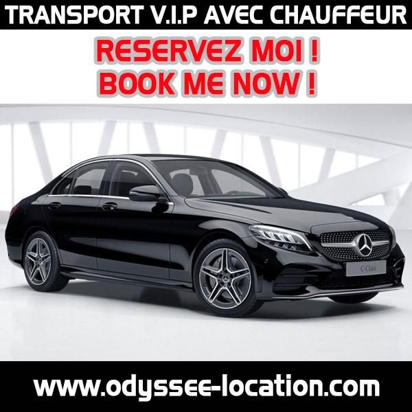 LOCATION VIP TRANSPORT AVEC CHAUFFEUR