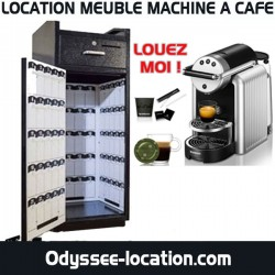 location meuble machine a cafe