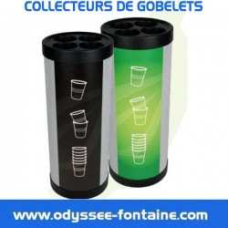 COLLECTEUR DE  GOBELETS EN LOCATION