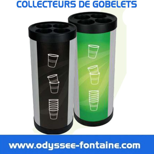 COLLECTEUR DE  GOBELETS EN LOCATION