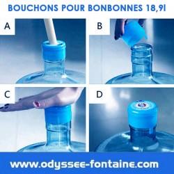 BOUCHONS POUR BONBONNE A EAU PROFESSIONNELLE