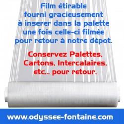 FILM ETIRABLE ODYSSEE IMPERATIF POUR RETOUR PALETTES